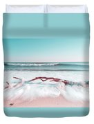 The Sea Green Ocean Fine Art Print Duvet Cover