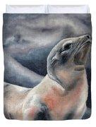 The Seal Duvet Cover