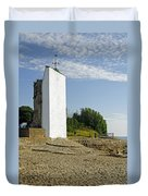 The Seamark On St Helens Beach Duvet Cover
