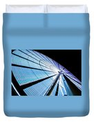 The Seattle Great Wheel Duvet Cover