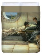 The Secret Duvet Cover by Sir Lawrence Alma-Tadema