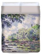 The Seine At Giverny Duvet Cover