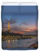 The Seine Evening Duvet Cover