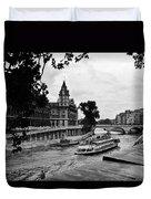 The Seine Paris1 Duvet Cover