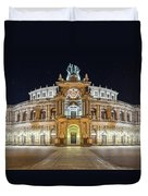 The Semper-opera Duvet Cover