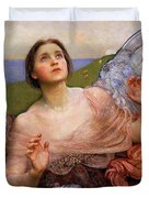 The Sense Of Sight By Annie Swynnerton  Duvet Cover