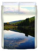 The Serenity Of The Moyie  Duvet Cover