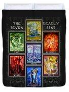 The Seven Deadly Sins Duvet Cover