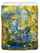 The Seven Sins- Greed Duvet Cover