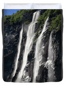 The Seven Sister Waterfall Duvet Cover