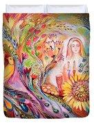 The Shabbat Queen Duvet Cover