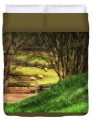 The Sheep's In The Meadow Duvet Cover