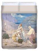 The Shepherd's Song, 1891 Duvet Cover