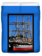 The Ship Balclutha Duvet Cover