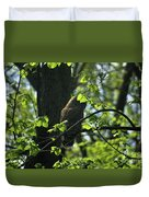 The Shy Owl Duvet Cover