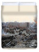 The Siege Of Sevastopol Duvet Cover