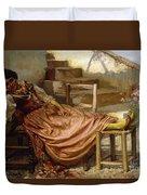 The Siesta, 1909 Duvet Cover