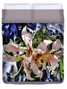 The Silk Flowers Duvet Cover