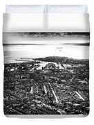 The Silver City Duvet Cover