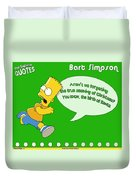 The Simpsons Duvet Cover
