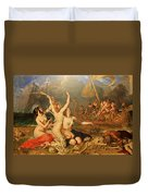 The Sirens And Ulysses Duvet Cover