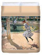 The Skipping Rope Duvet Cover