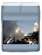 The Sky And The Trees Duvet Cover