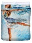 The Sky Dance Duvet Cover