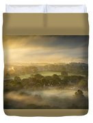The Sky Kissed The Land Duvet Cover