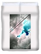 the sky...She came to me  Duvet Cover