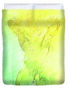 The Smug Statue Duvet Cover