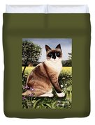 The Snowshoe Cat Duvet Cover