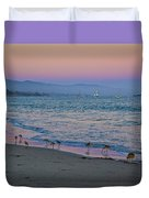 The Soft Side Of Sunset Duvet Cover
