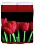 The Softer Tulips Duvet Cover by Tracy Hall