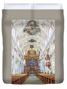 Lucerne's Jesuit Church  Duvet Cover
