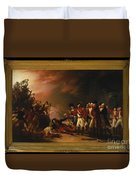 The Sortie Made By The Garrison Of Gibraltar Duvet Cover