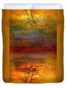The Soul Dances Like A Tree In The Wind Duvet Cover