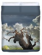 The Soul Of A Tree Duvet Cover