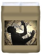 The Sound Of Silence Duvet Cover
