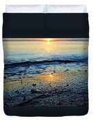 The Sound's Edge Duvet Cover