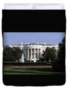 The South Side Of The White House Duvet Cover