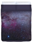 The Southern Milky Way Duvet Cover
