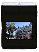 The Southernmost House In Key West Duvet Cover