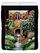 The Spanish Gardens Duvet Cover