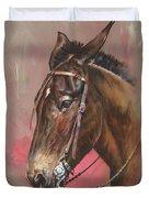 The Spanish Mule Duvet Cover