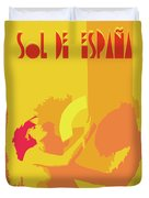 The Spanish Sun  Duvet Cover