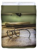 The Spectacles Duvet Cover