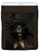 The Spider  And The Fly Duvet Cover