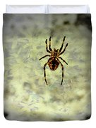 The Spider Waits Duvet Cover