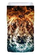 The Spirit Tiger Duvet Cover